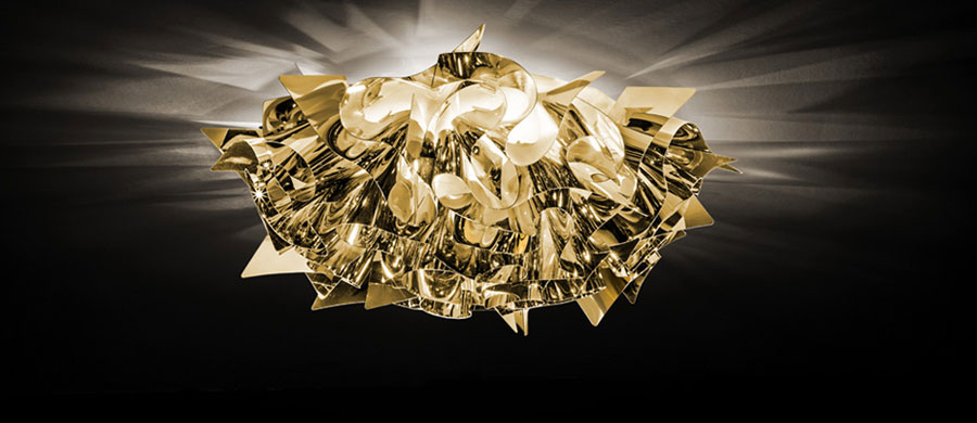 lampada veli gold by slamp