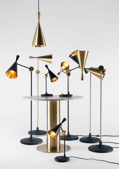 Beat is a lamp series, which now also includes floor and table lamps. Beat is inspired by conical-shaped vases, which are extremely popular in Indian culture and are used to carry water. All lam...