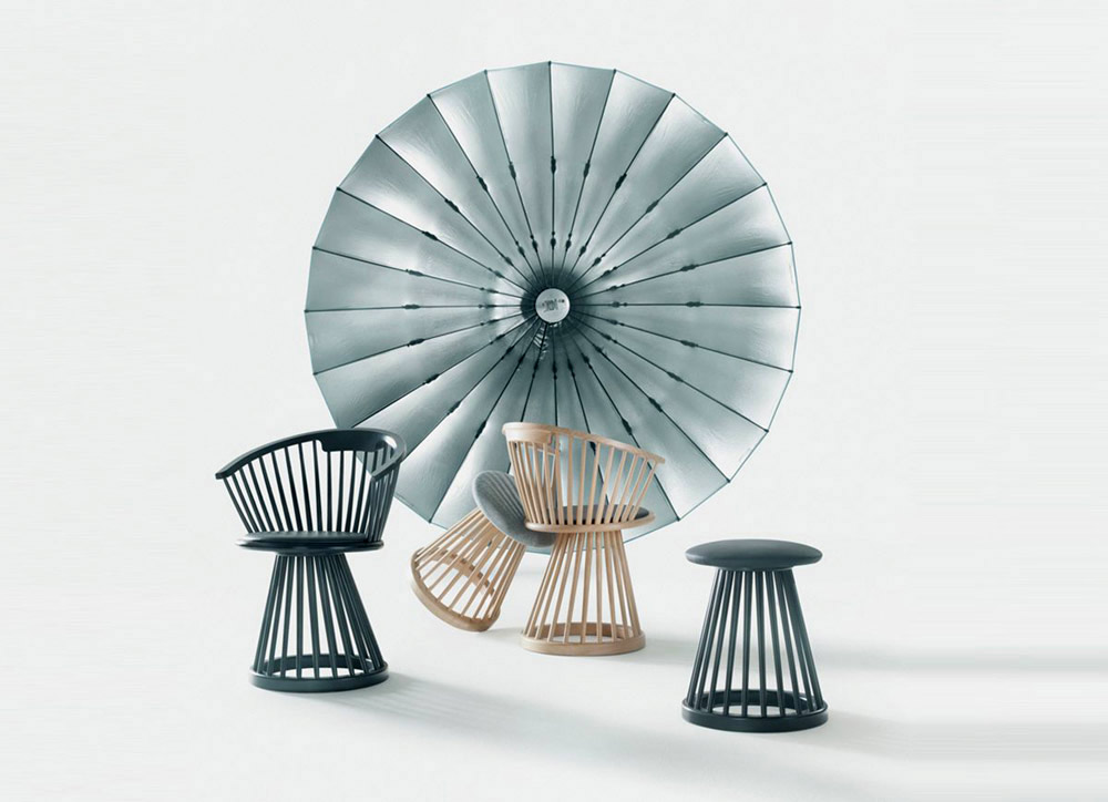 Fan chair, Tom Dixon, 2011