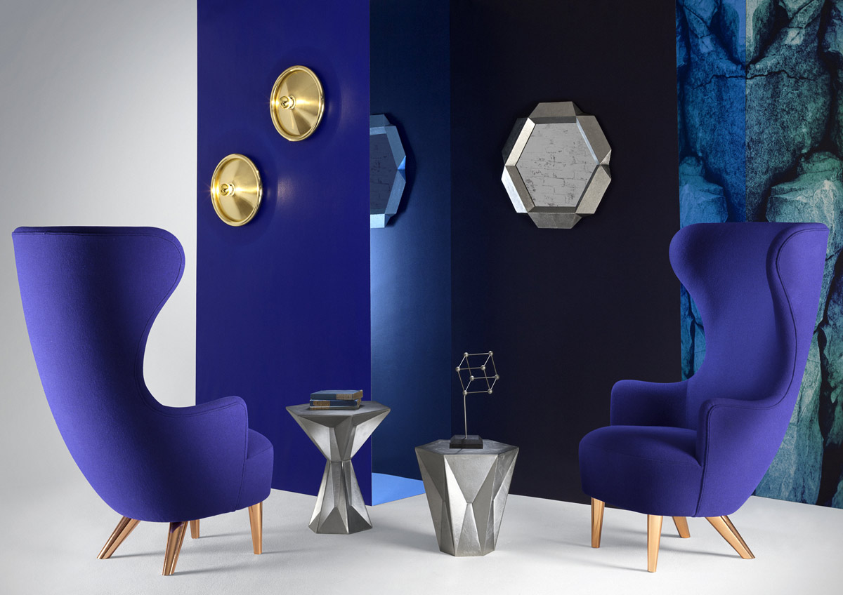 Gem is a sculptural coffee table, surface faceting inspired by how precious stones are cut. Gem has a rough surface, made in aluminum-nickel. Gem is also part of a large furniture series which...
