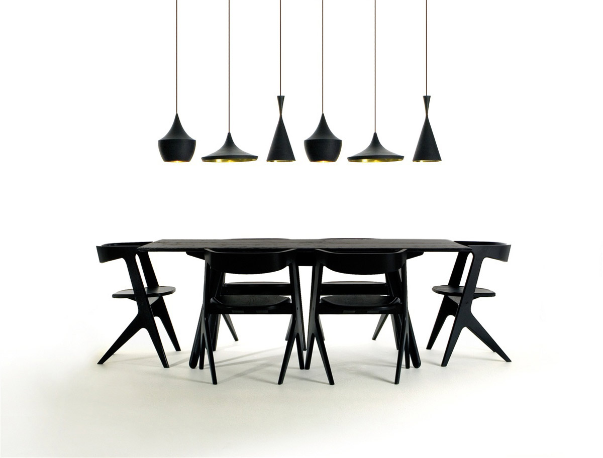 Slab table, Tom Dixon, 2008