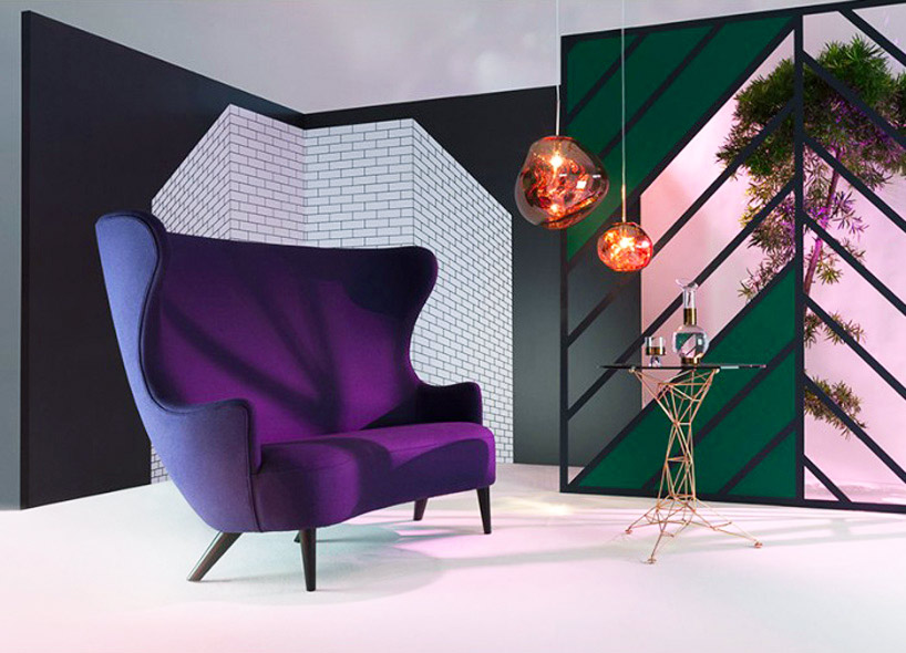 Wingback sofa, Tom Dixon, 2008