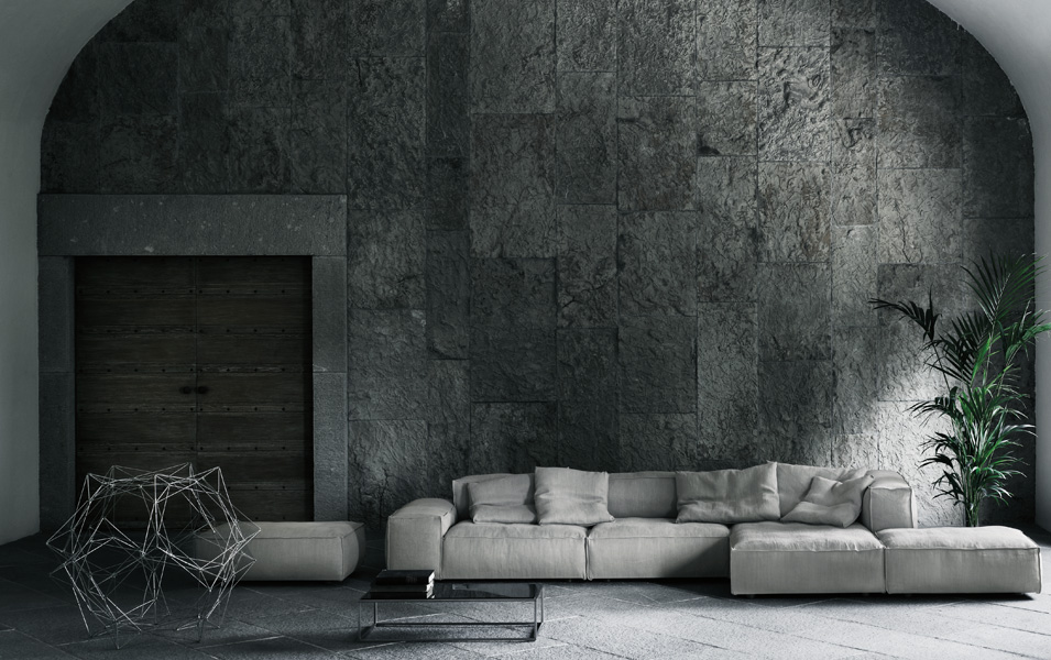 neowall sofa by living divani