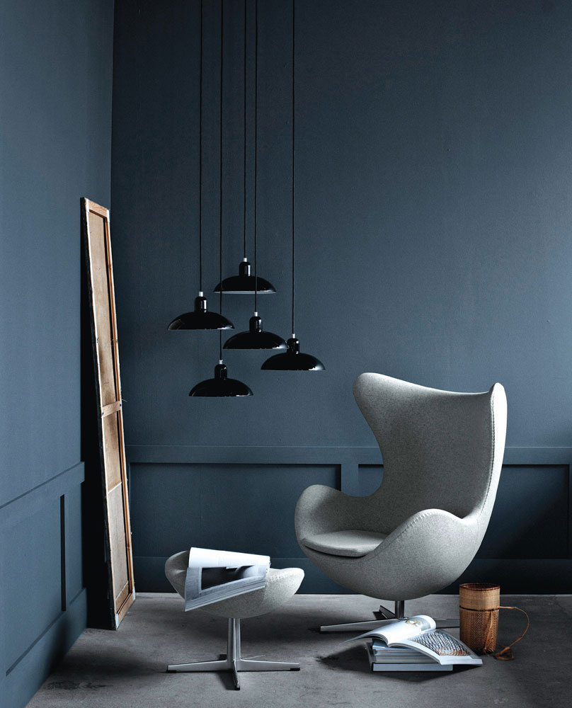 egg armchair by fritz hansen