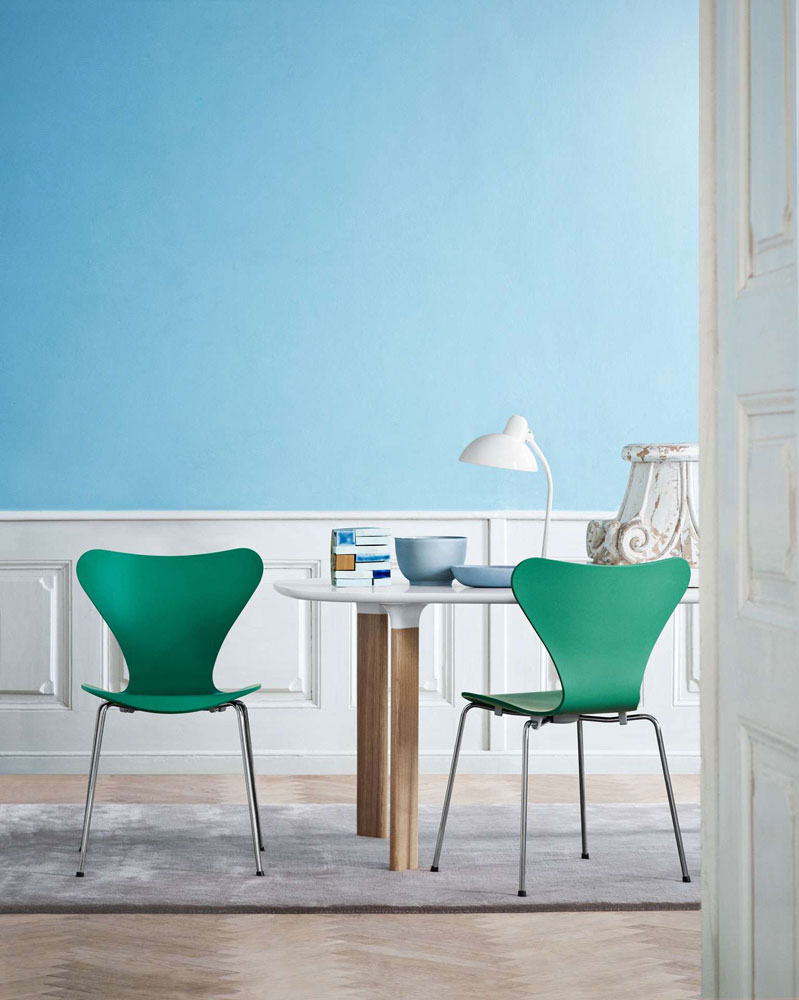 serie 7 chair by fritz hansen