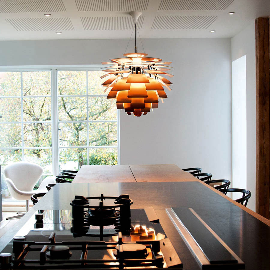 ph artichoke lamp by louis poulsen