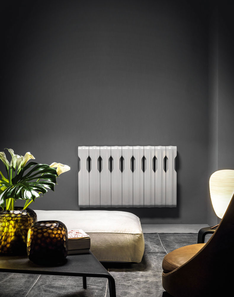 agorà radiator by tubes