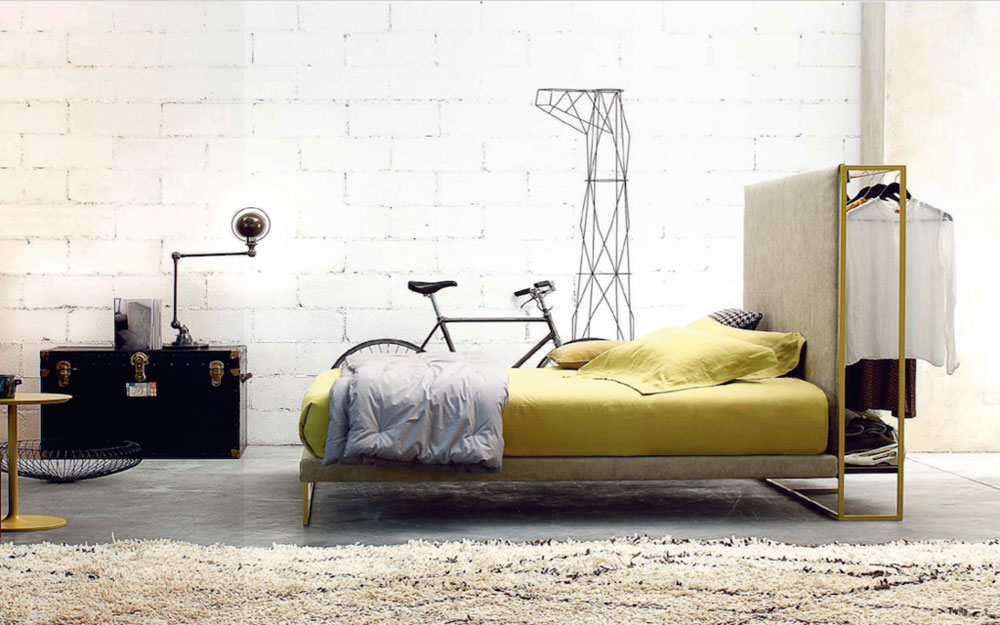 frame bed by twils