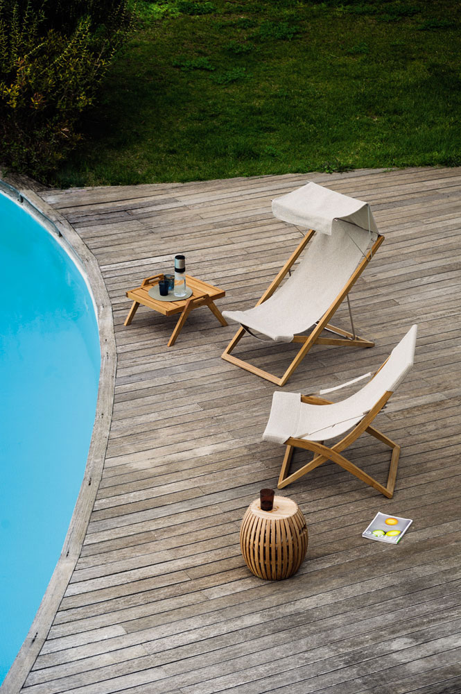 italian outdoor furniture brands. Cosette Deck Chair By Unopi Italian Outdoor Furniture Brands