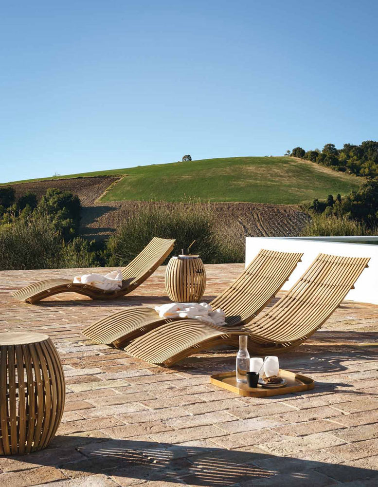 italian outdoor furniture brands. Swing Chaise Longue By Unopi Italian Outdoor Furniture Brands I