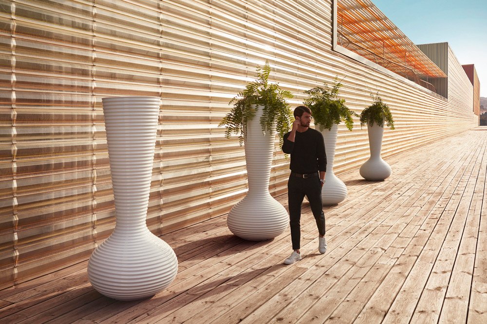 vaso bloom by vondom