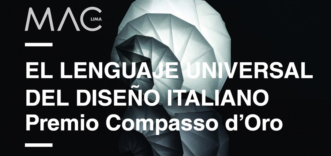 El lenguaje universal del diseño italiano (from Spanish: the universal language of Italian design)