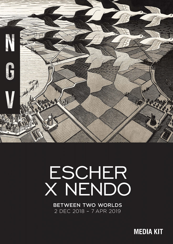 Escher X nendo | Between Two Worlds