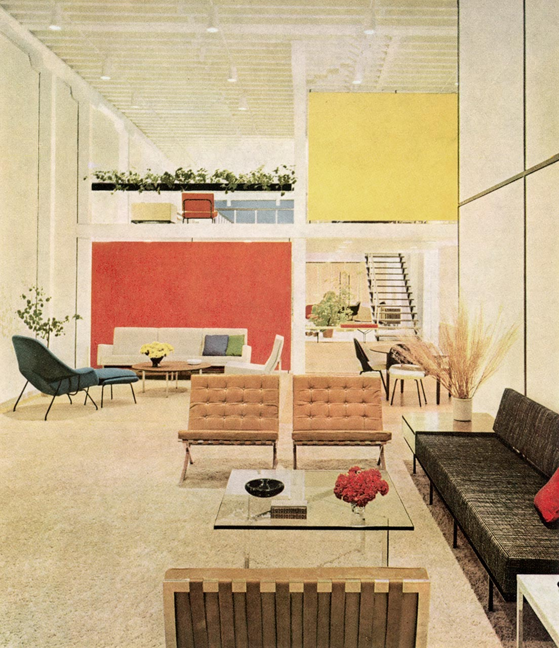 San Francisco showroom - Florence Knoll, the history of a legend
