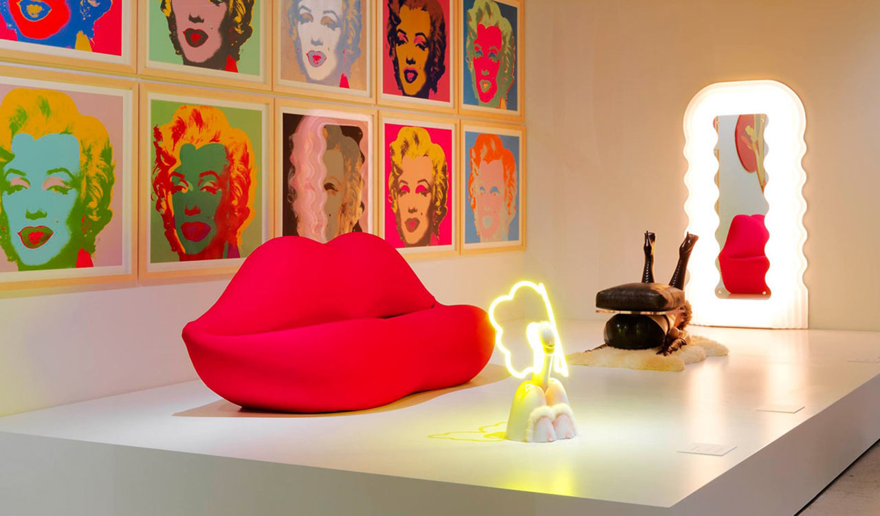 Gufram for Arredamento pop art