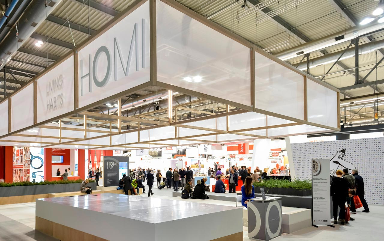 HOMI, il Salone degli Stili di Vita. Rho Fair -12/15 september 2015