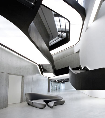 Zaha Hadid's Italy at the MAXXI in Rome