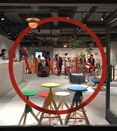Magis, the Tokyo showroom: reopened with a new look by Design Fresco