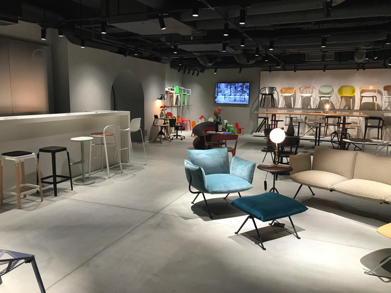 Magis, the Tokyo showroom: reopened with a new look