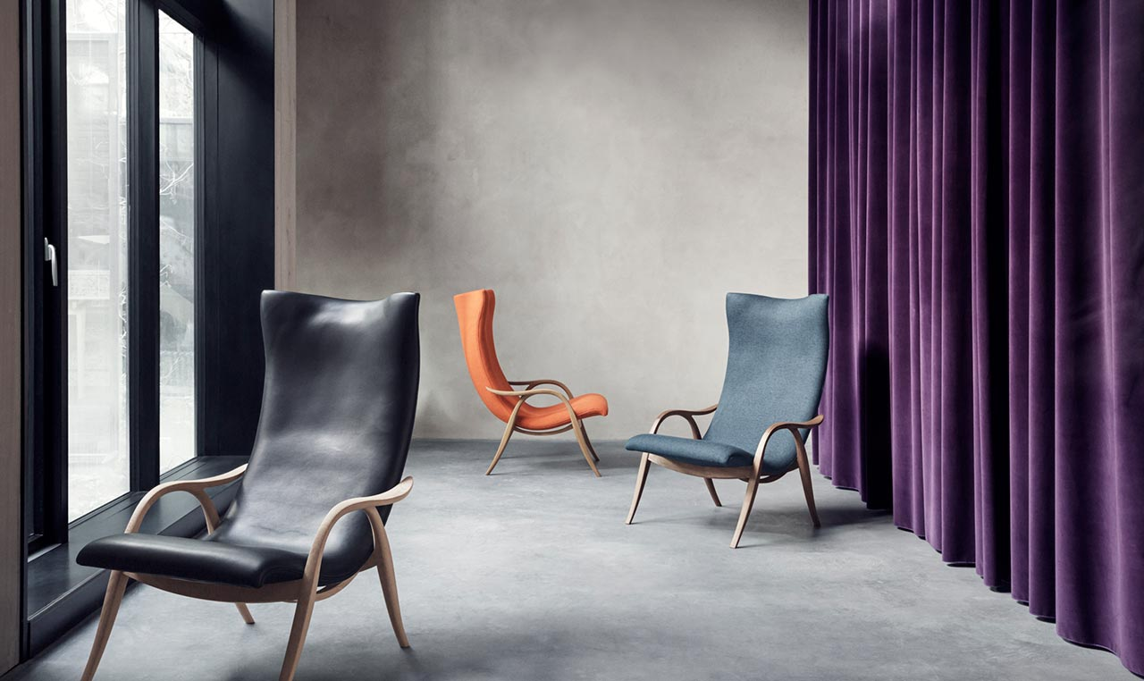 Carl Hansen showing at Mc Selvini in Milan