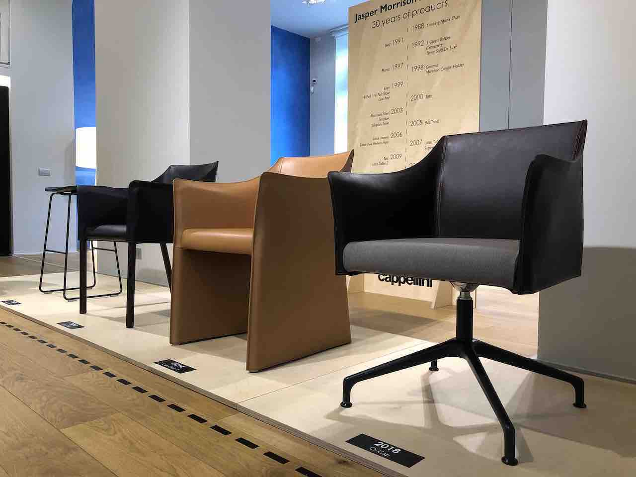 """Jasper Morrison – Cappellini, 30 years of successfull products"". Cappellini Point, Milan, 2018"