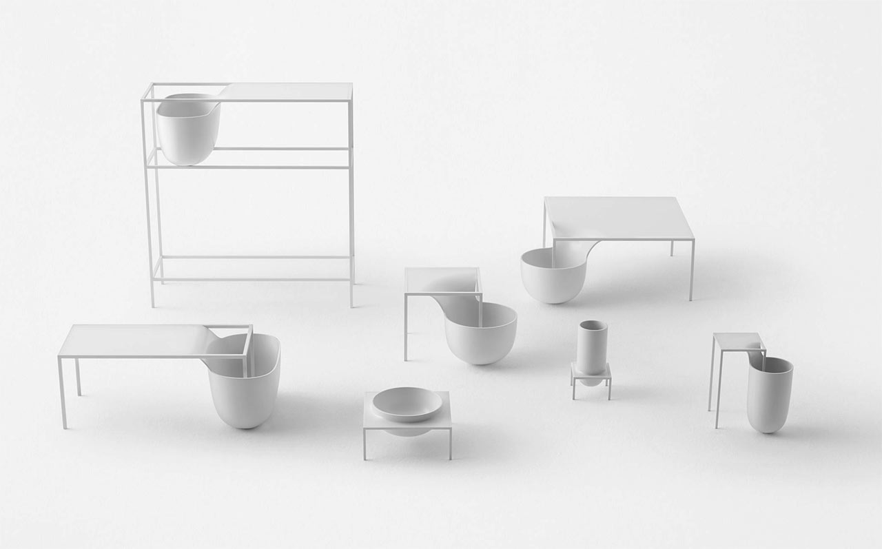 Nendo Invisible Outlines