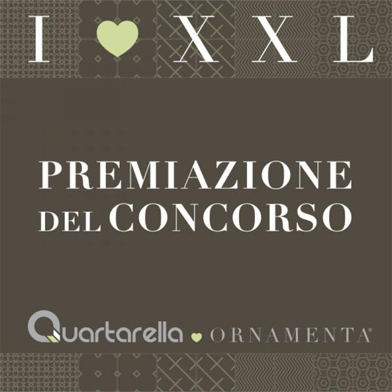 Quartarella Ornamenta I LOVE XXL