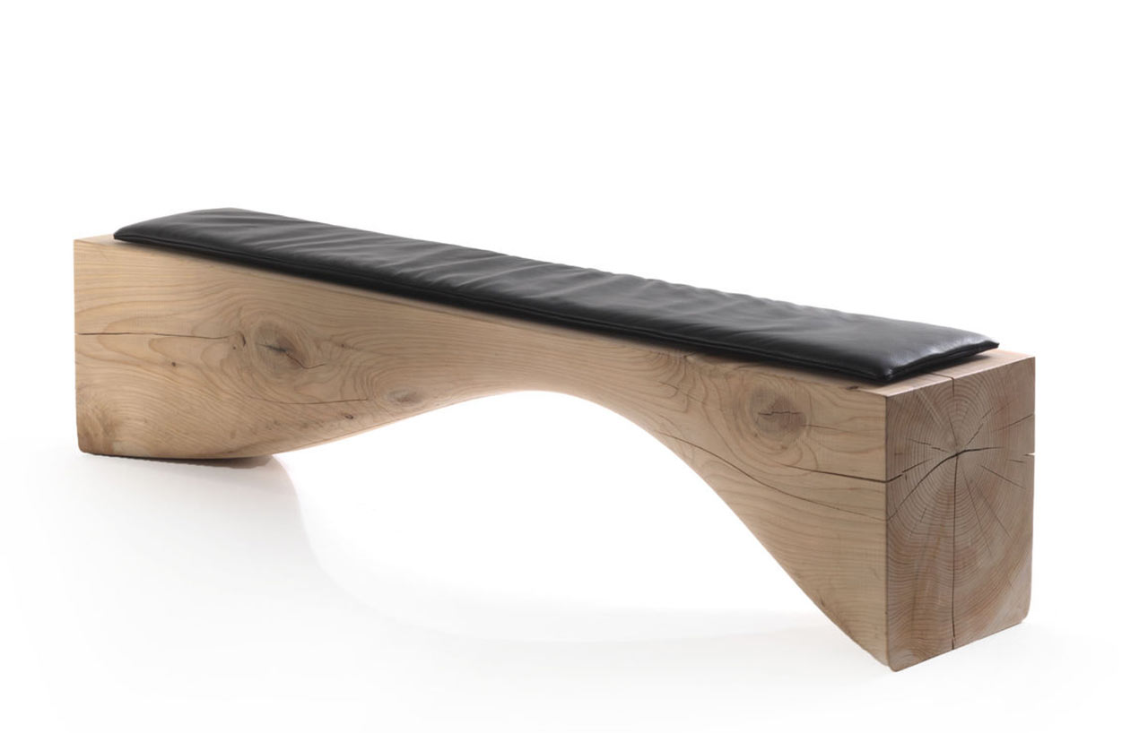Riva 1920, Curve Bench - design Brodie Neil