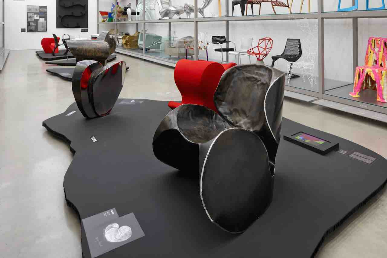 Ron Arad: Yes to the Uncommon! Vitra Schaudepot. Little heavy chair