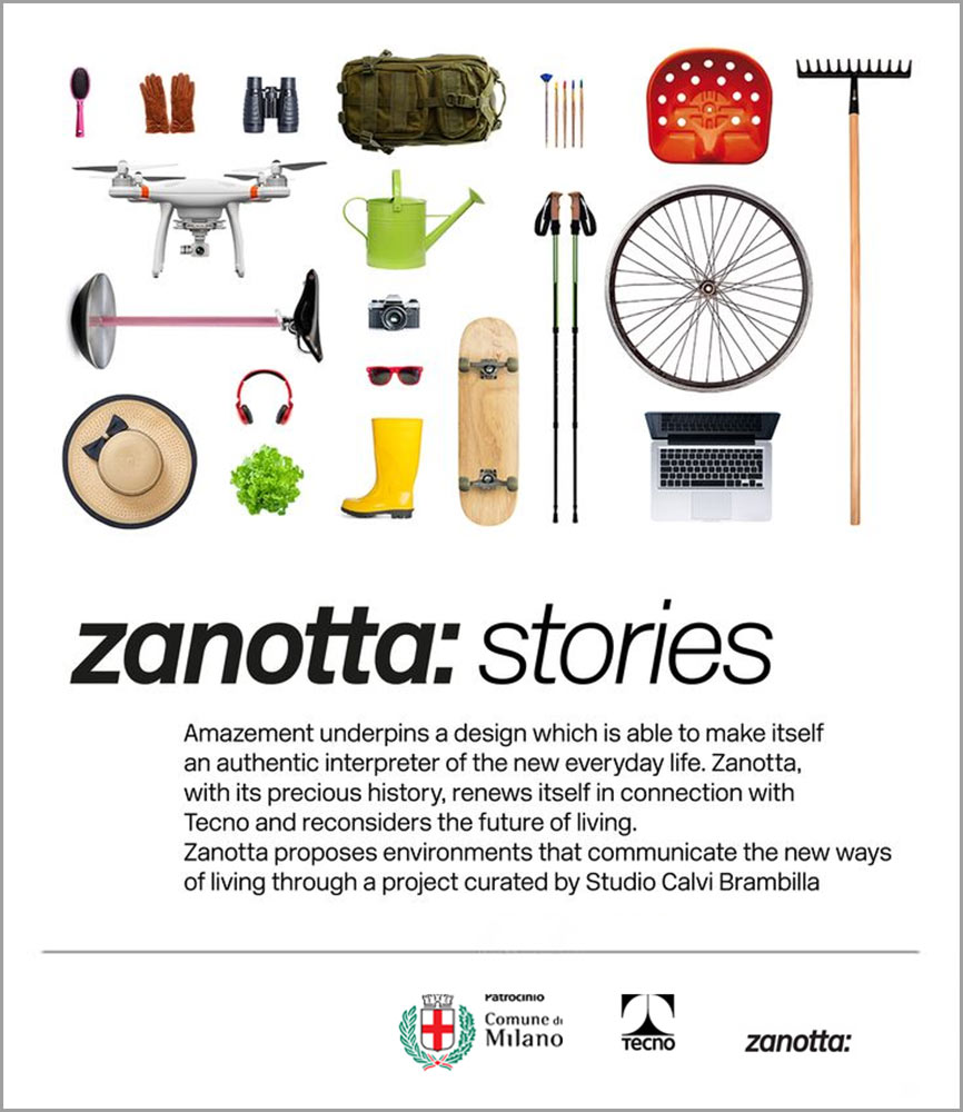 "Tecno: ""Zanotta: Stories"""