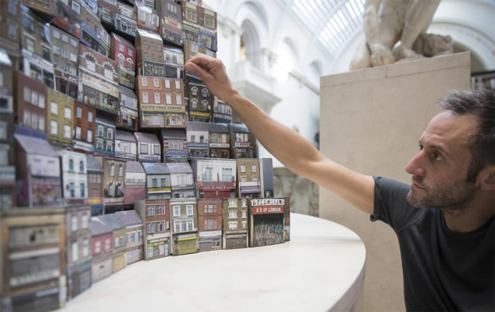 The London Design Festival 2015 (evento: Barnaby Barford: The Tower of Babel)