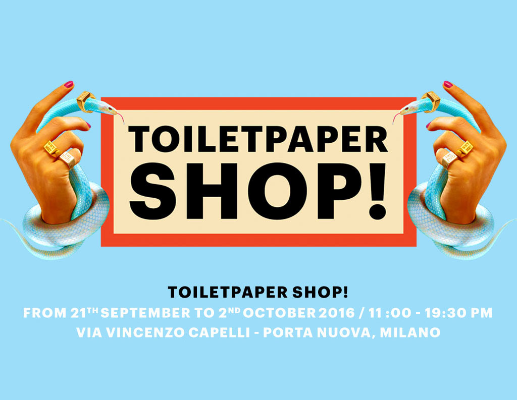 Toiletpaper Shop Milano