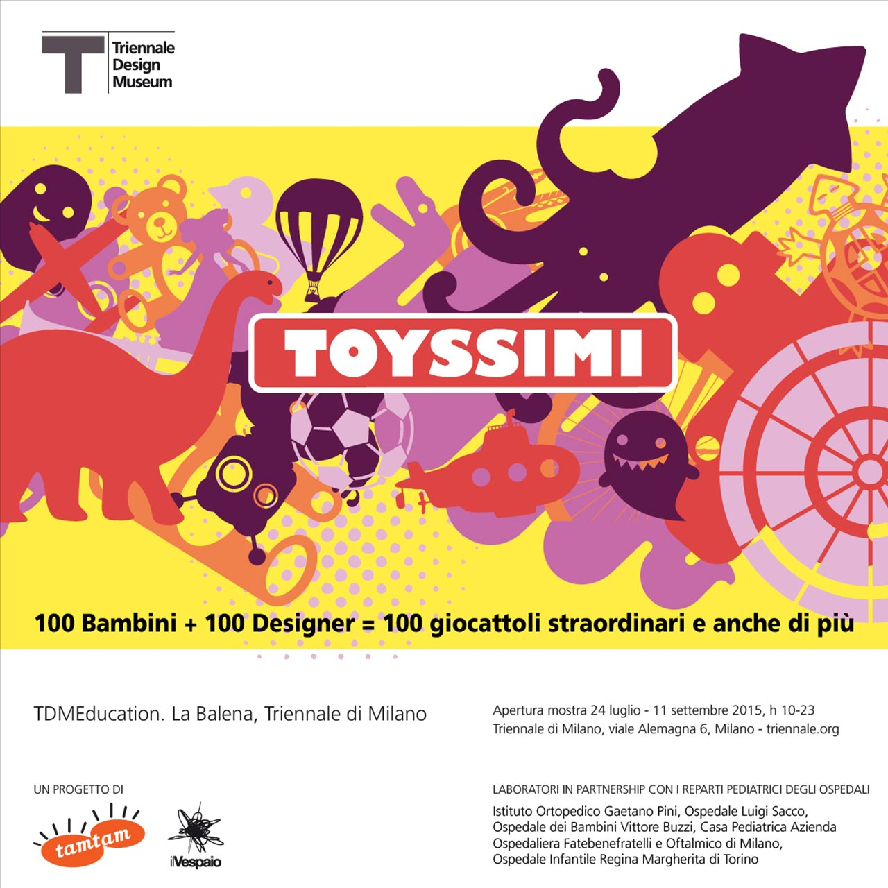 Toyssimi: a dream toyland at the Triennale di Milano
