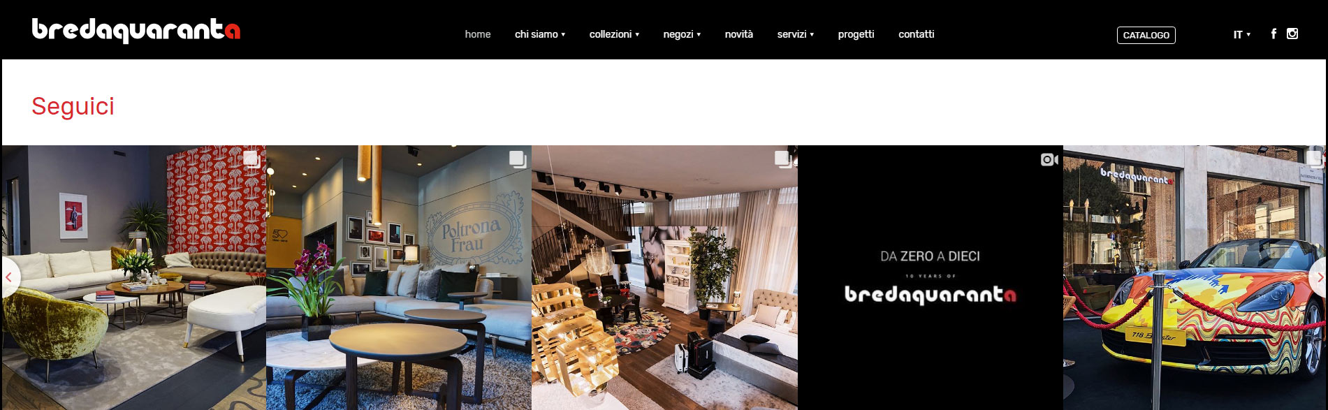Bredaquaranta new website 2019