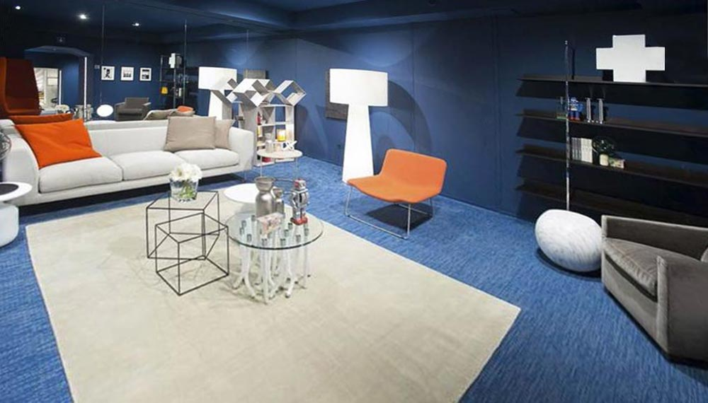 Cappellini and Poltrona Frau showroom
