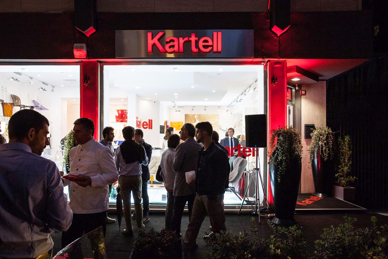 Kartell flagship store Palermo G02