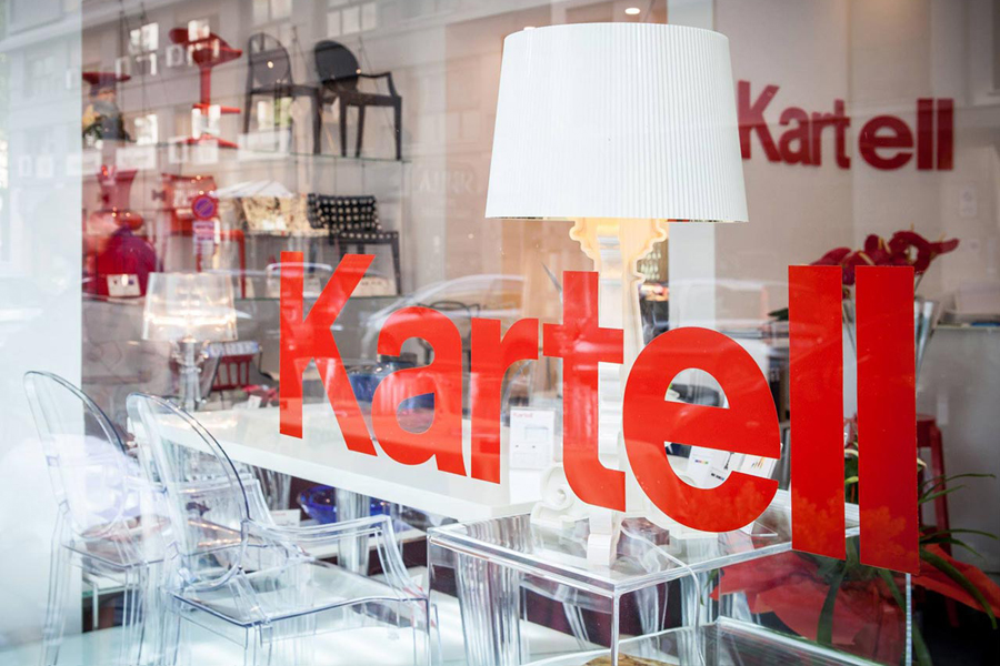 Kartell: a new showroom in Palermo