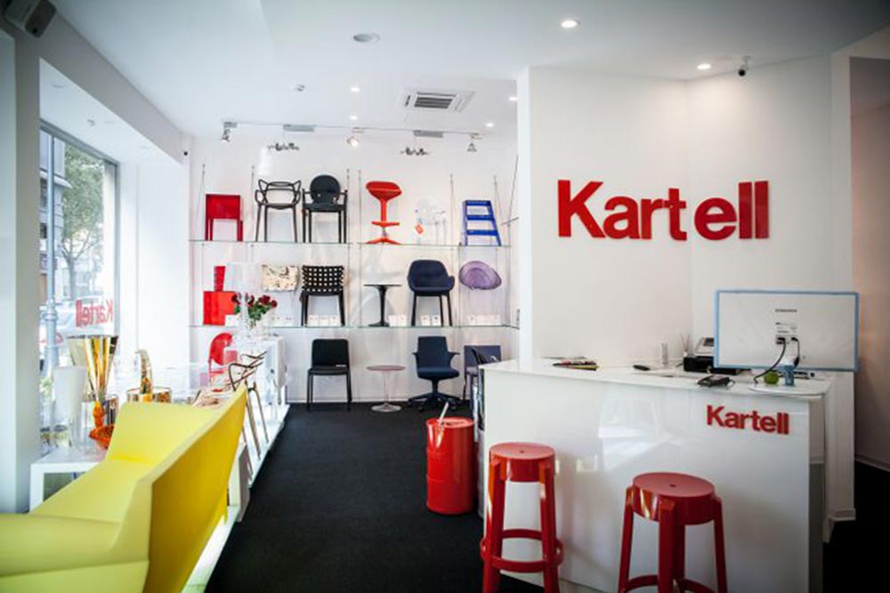 Kartell flagship store Palermo 9