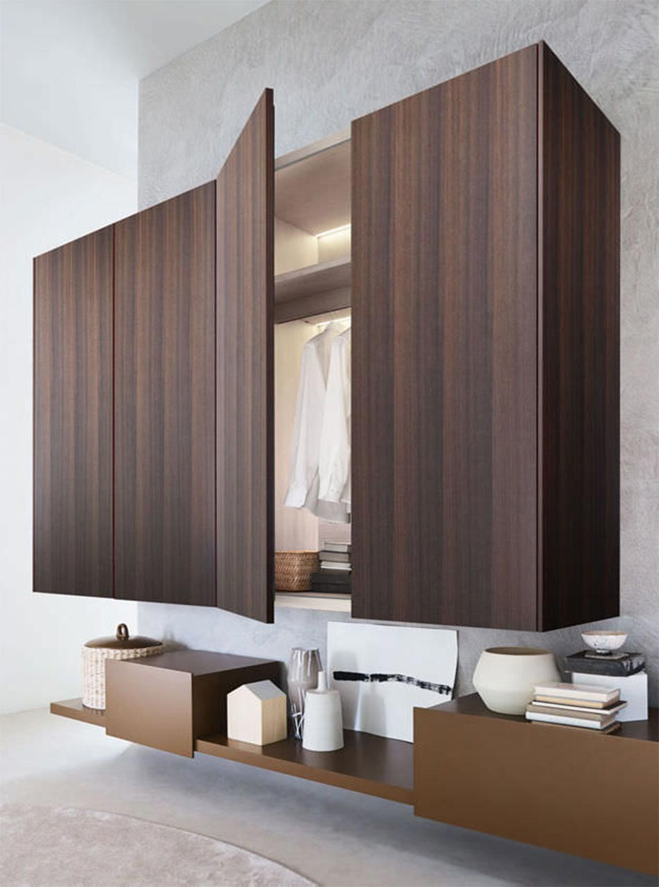 Molteni&C, Gliss-Up modular wardrobes