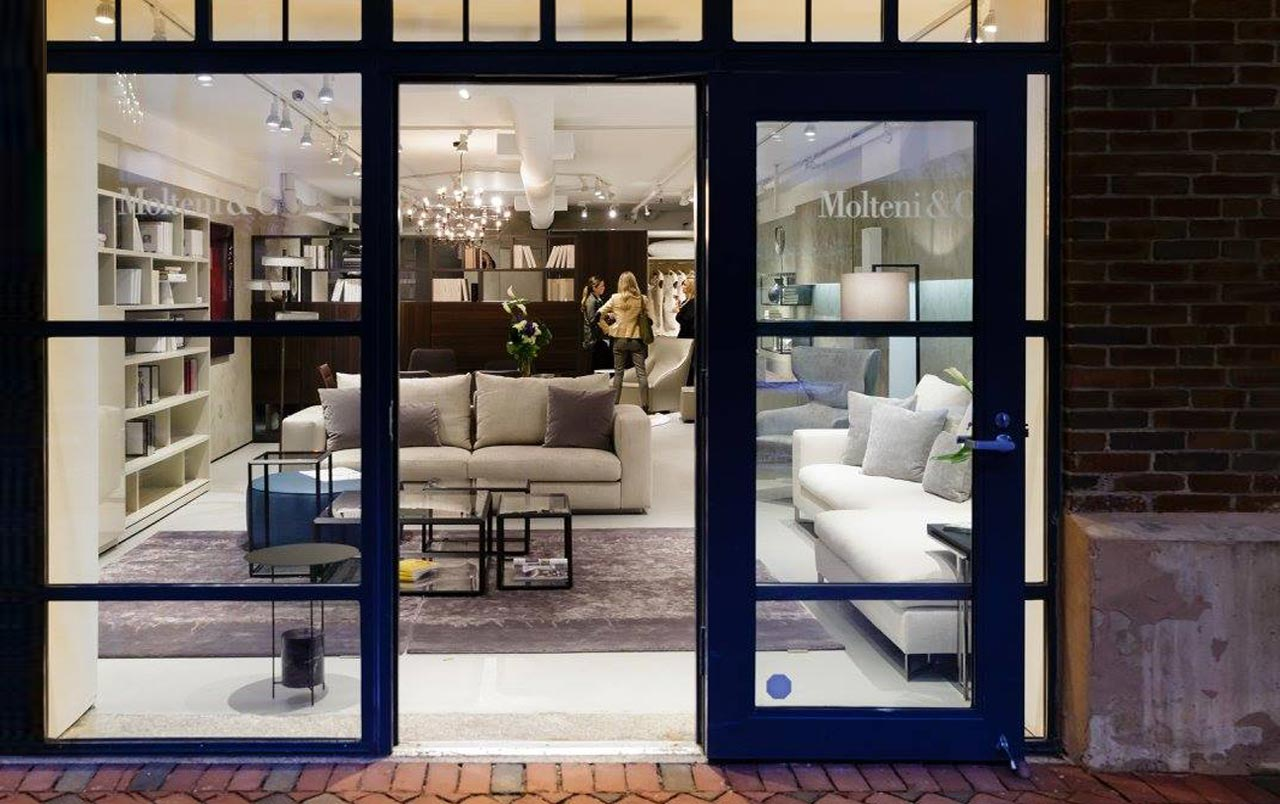 Molteni&C flagship store Boston