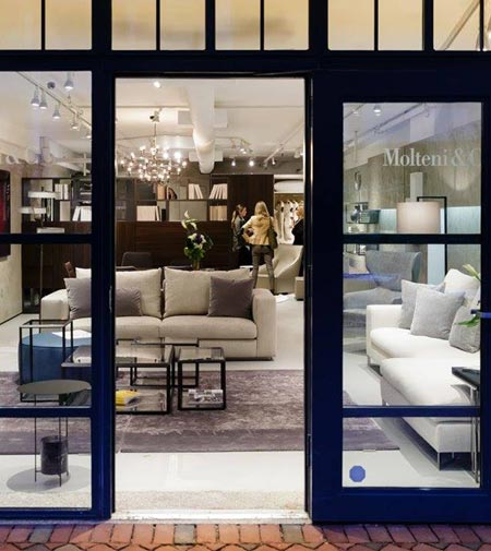 Molteni inaugura un nuovo showroom a Boston