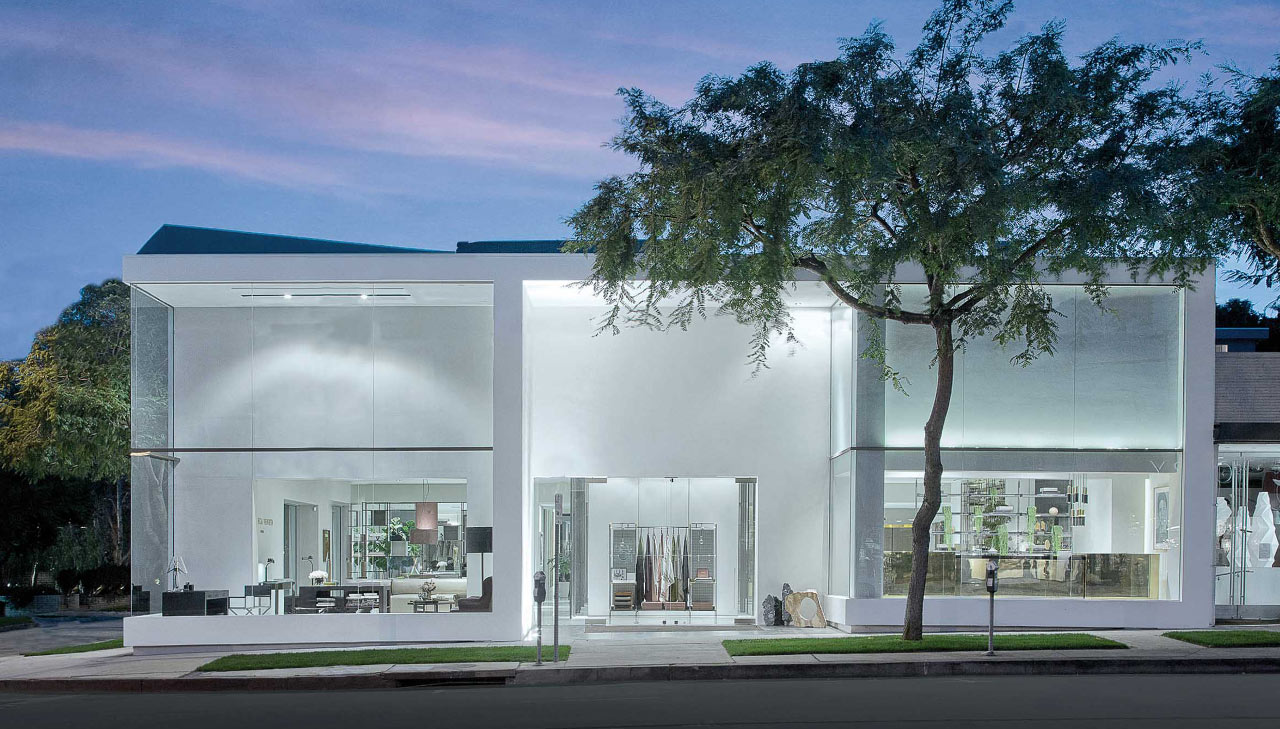 Rimadesio, showroom Los Angeles