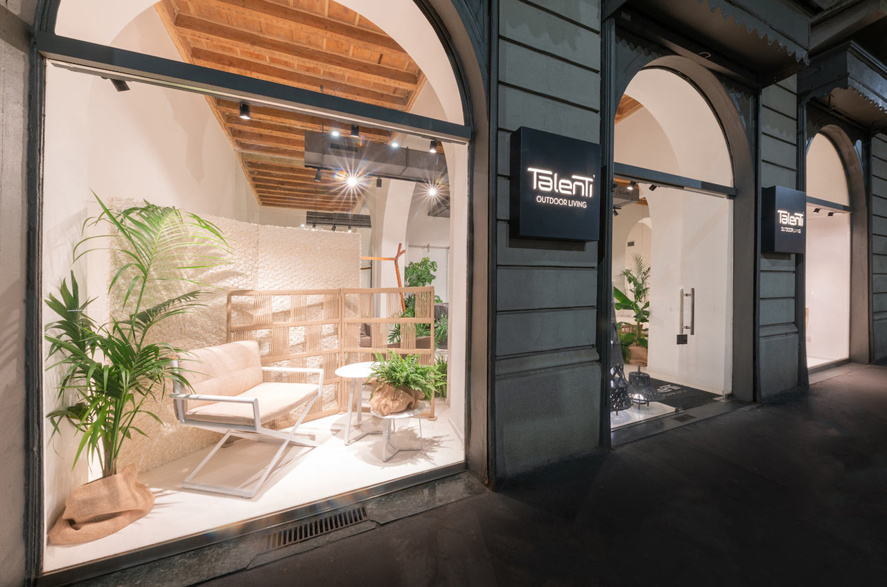 Talenti showroom Milano