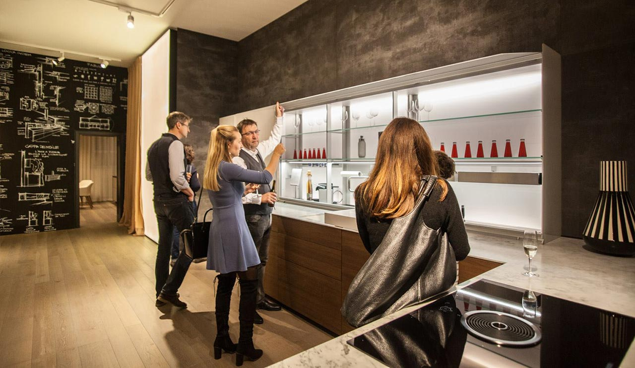 Valcucine showroom Berlin 2019