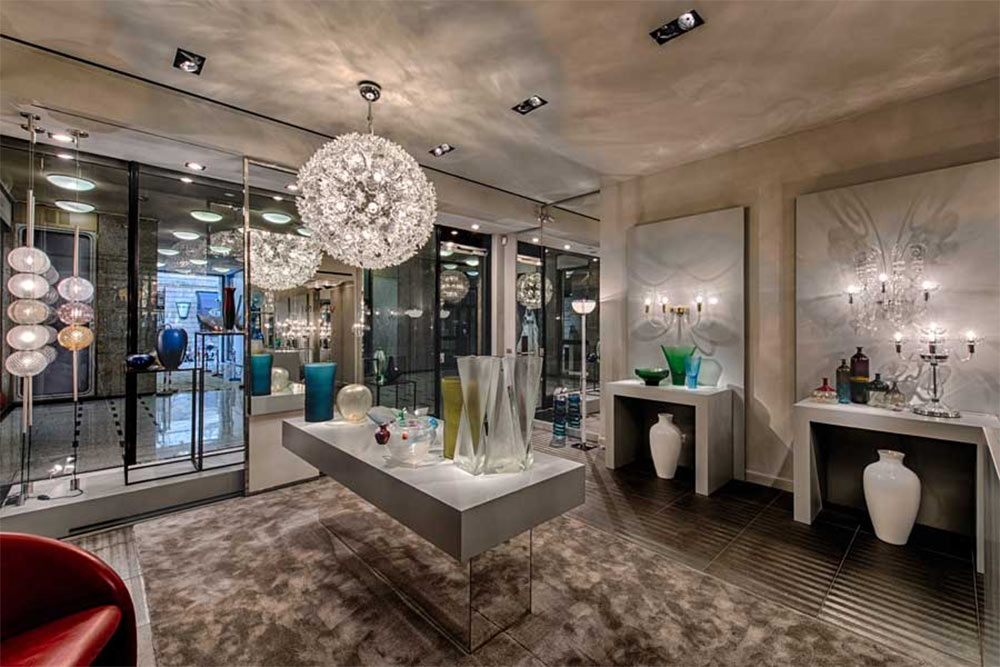 Venini, showroom via Montenapoleone