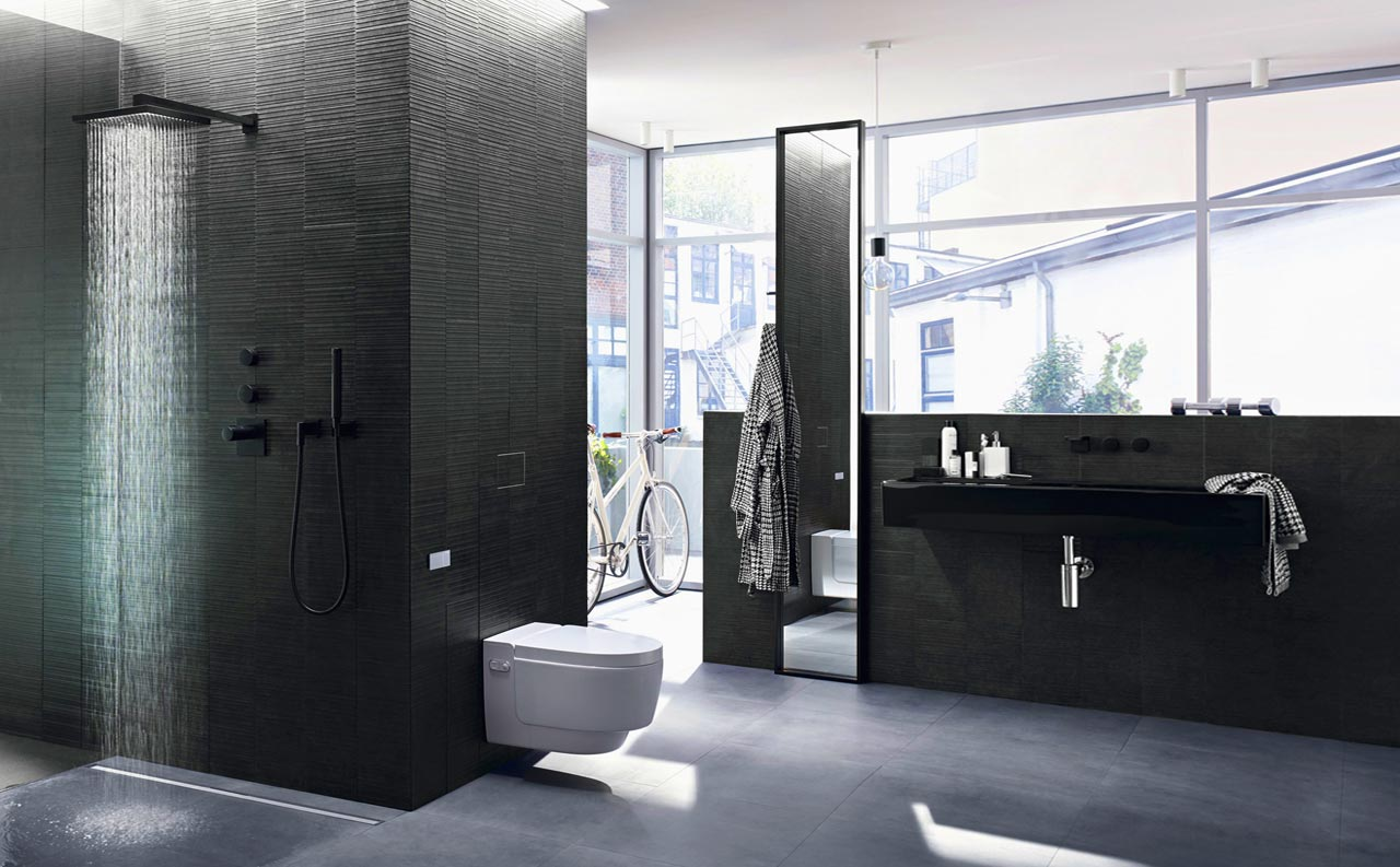 Metropolitan bathroom: elegance comes in gray