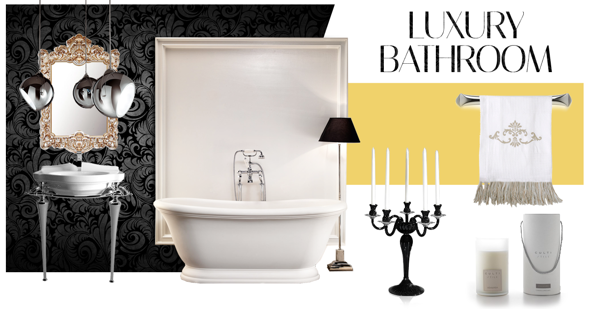 moodboard luxury bathroom