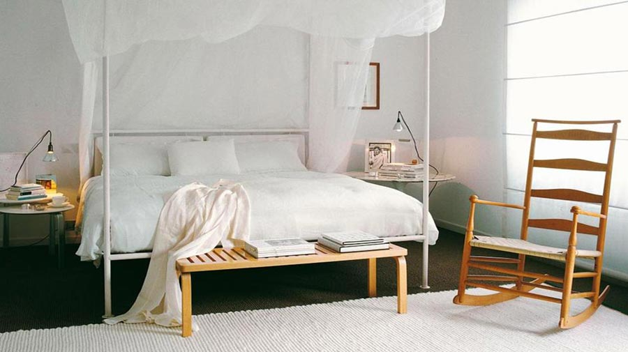 Romantic Bedrooms In Nordic Style