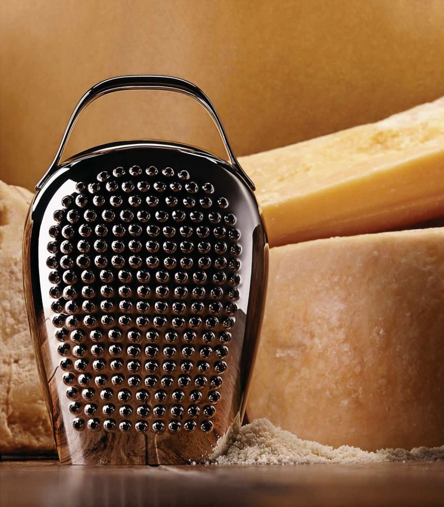 Cheese Please cheese grater by Alessi