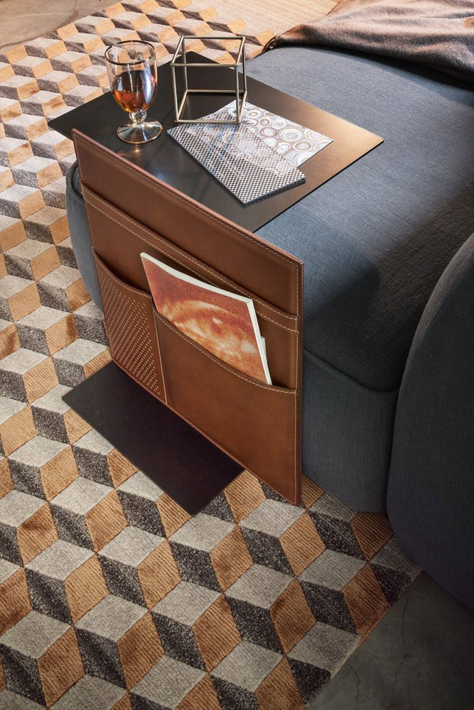 Note coffee table, design LucidiPevere 2015, Lema.